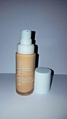 TRISH MCEVOY EVEN SKIN TREATMENT FOUNDATION FULL SIZE RARE NEW: COLOR CREAM (Trish Mcevoy Treatment Foundation)