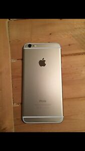 iPhone 6 Plus 16 GB Gold with clear case