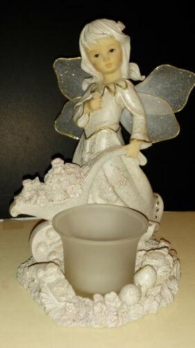 Adorable Fairy Figurine Tea light Holder