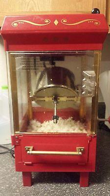الة صنع الفشار مستعمل Air Popcorn Hot Machine Popper Maker Corn Nostalgia Red Pop Vintage