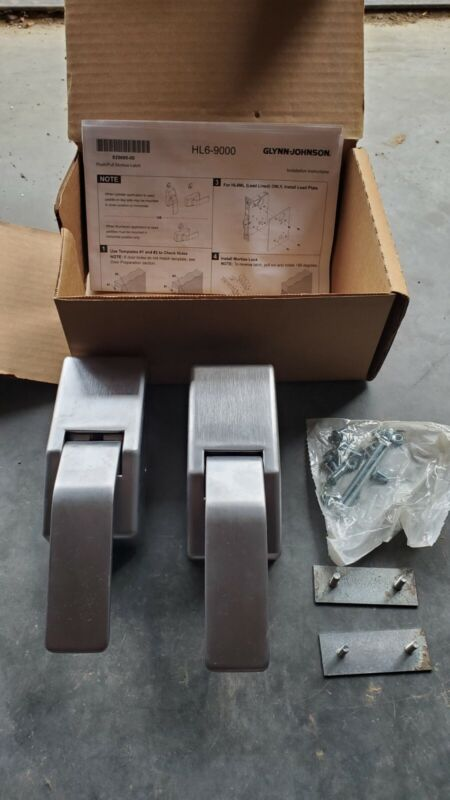 Schlage / Glynn Johnson HL6-9000RK Trim Only Push/Pull Latch Brushed Stainless