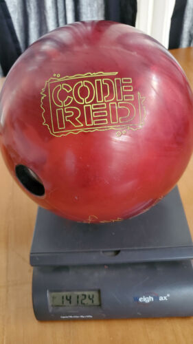 Storm Code Red 15lb used bowling ball