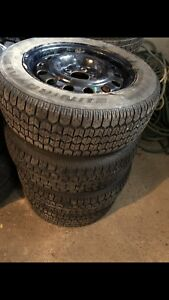Winter tires with rims 195/65R15