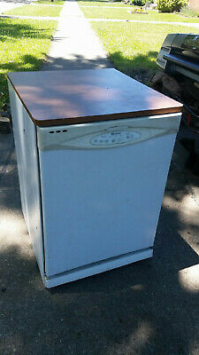 Maytag 24in portable dishwasher on wheels