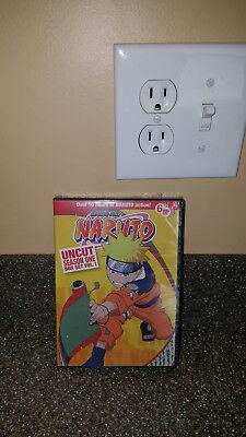 Naruto Uncut Box Set: Season One, Vol. 1 (DVD, 2009, 6-Disc Set)