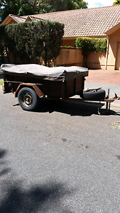 Camper trailer 6 x 4 registered needs a little tlc Unley Unley Area Preview
