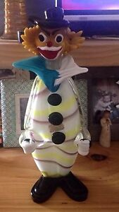 murano glass clown Huge piece with sticker Tyrendarra Glenelg Area Preview