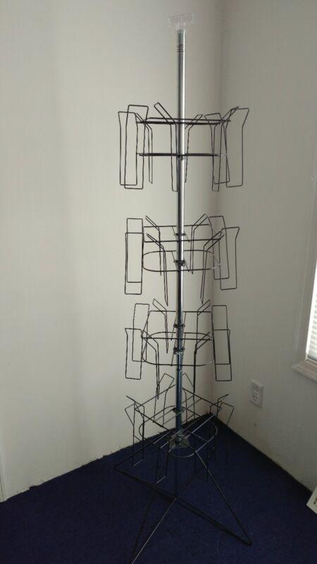Brochure Rack , Rotating Wire Floor Display