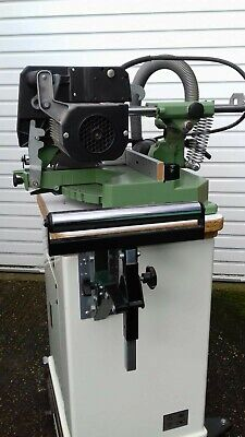 Elecktra Beckum Chop Saw Mounted on Jet Closed Stand with Mobile Base - VGC