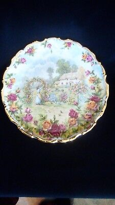 Royal Albert A Celebration Of Old Country Roses Garden Plate 8 1/2
