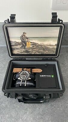 Certina DS PH200M Diver's Watch Powermatic 80 Divers Vintage Reissue