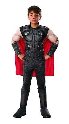 Rubies Marvel Avengers Endgame Thor Deluxe Childs Kids Halloween Costume 700673 (Thor Deluxe Costume)