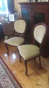 Elegant Balloon Back Chairs - pair Northbridge Willoughby Area Preview