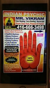 INDIAN ASTROLOGER AND PSYCHIC  Peterborough Peterborough Area image 5