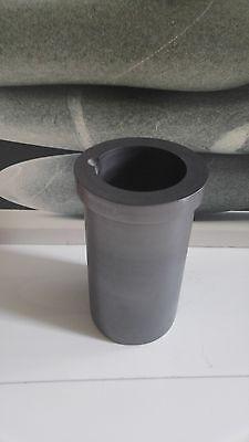 Graphittiegel 1 kg Schmelztiegel Graphite crucible Schmelzschale 154g