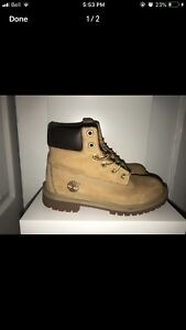 Timberland boots size 5 men