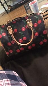 Authentic Louis Vuitton Speedy Special Edition Cherries
