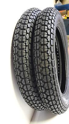 Diagonale Mantel (Rad Reifen Schlauch Mantel pass für Simson Roller SR50 SR80 SD50 3.00x12  VRM220)