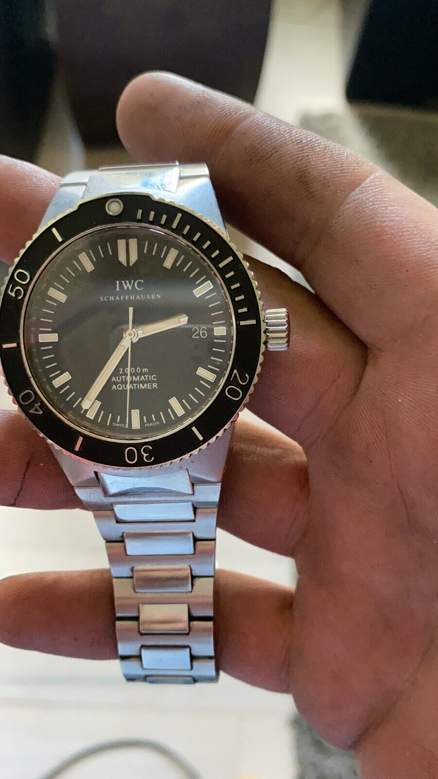 IWC GST Aquatimer 2000 in Stainless Steel - watch picture 1