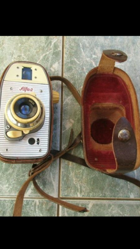 VINTAGE ALFA 2 CAMERA Worth Point Vintage 60s Alfa 2 Film Camera 35mm ORIGINAL