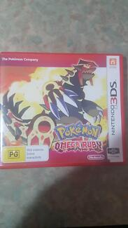 Pokemon Omega Ruby 3ds and 2 free games