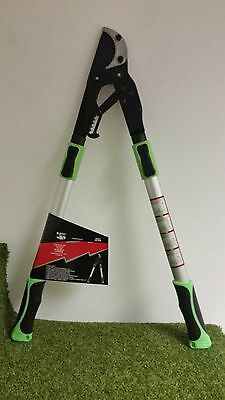 Heavy Duty Professional Telescopic Ratchet Loppers Long Reach Tree Pruners