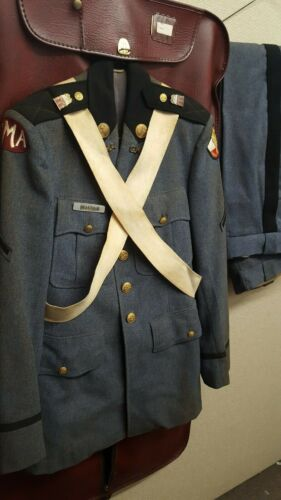 Vintage Georgia Military Academy G.M.A. ROTC Uniform