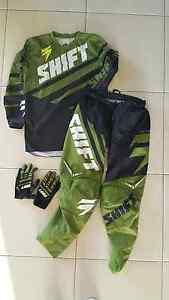 Boy's Shift Motorcross Gear, pants, shirts, gloves Highland Park Gold Coast City Preview