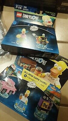Lego Dimensions Wii U 71174 LOT portal base game plus Simpsons Dr Who NEW