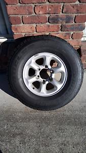 Alloy wheel & tyre Launceston Launceston Area Preview