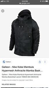 bf2aadc52340ee Nike Mens M Kobe Basketball Jacket