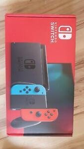 BRAND NEW Nintendo Switch Neon Red/Blue