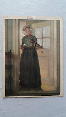 Die Münchner JUGEND-Illustrierte Wochenzeitschrift-Heft-Nr.9-1910-Alois Wierer
