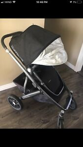 2016/2017 UPPAbaby vista stroller and bassinet