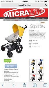 Micralite light weight hybrid stroller Eden Hill Bassendean Area Preview