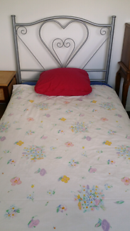 Girls king single bed + extras