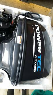 40hp  Power Tec outboard short shaft Stanhope Gardens Blacktown Area Preview