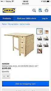 Norden IKEA folding table Somerton Park Holdfast Bay Preview