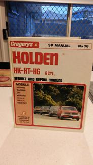 Holden HK HT HG SP Manual