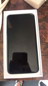 Gloss black iPhone 7 Plus like new