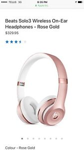 Wireless Special Edition Apple Headphones