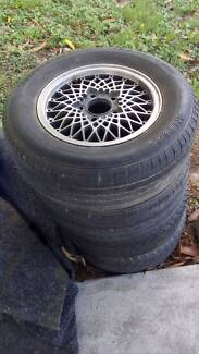 Holden/chev alloy rims and tyres x4