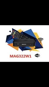 Latest IP smart TV  MAG 322 with wifi