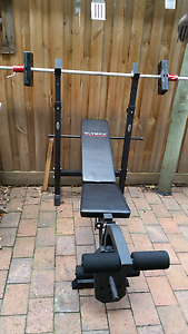 OLYMPIC BENCH PRESS PLUS Sandringham Bayside Area Preview