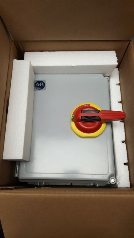 Allen Bradley 194R-KJ60-1753-PY Enclosed Disconnect Switch 3 Pole