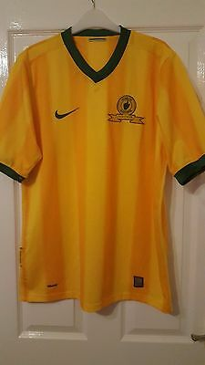 Mens Football Shirt - Mamelodi Sundowns - South Africa - Home 2009-2011 - Nike image