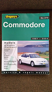 Gregory's Workshop Manual Commodore 1997to 2002. VT to VX Series Rochedale South Brisbane South East Preview