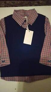 Pumpkin Patch Size 6-12 Months Mock Vest Shirt Gawler South Gawler Area Preview