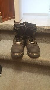 Harley Davidson Leather Boots - Excellent Condition