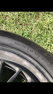 """Fast mags 17"""" with tires"""